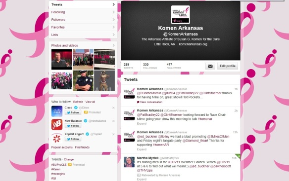 Social Media 101, What is #KomenAR, heck, what is a hashtag???