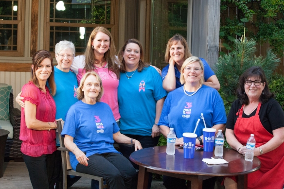 A awesome group of ladies!